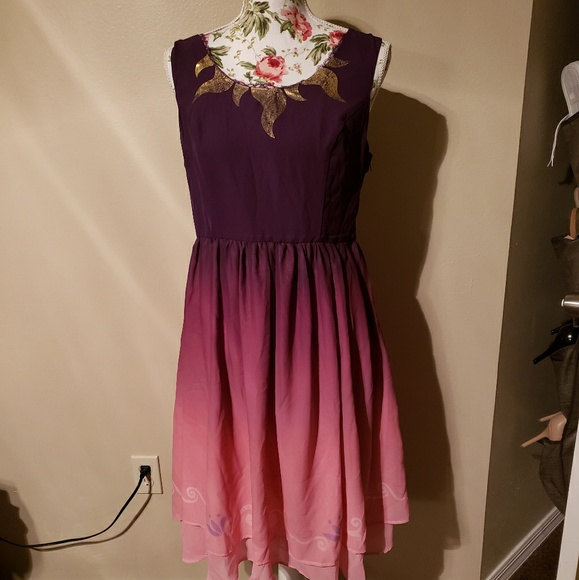 7b27b4ce96 Disney Dresses | Her Universe Tangled Ombre Dress | Poshmark
